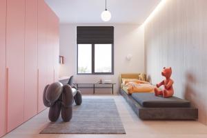 Ý tưởng thiết kế căn hộ tối giản cho gia đình có trẻ nhỏ